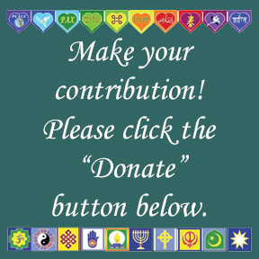 Website Donation Sign 3 4x4