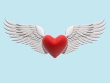 heart-wings 5 BLUE